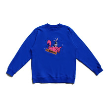 [30%할인][PL.HAMING]Astronaut on Tube sweatshirts - BLUE