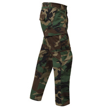 [Rothco] Color Camo Tactical BDU Pant - Woodland Camo