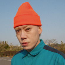 [A PIECE OF CAKE] Grape Gummy Beanie_Vivid orange