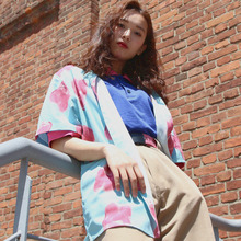 [A PIECE OF CAKE] [5/25 예약출고] Grape Gummy Hawaiian Shirts_Blue