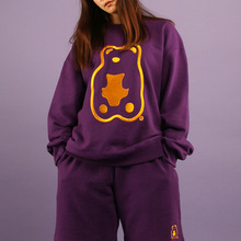 [A PIECE OF CAKE] Grapegummy Crewneck_Purple