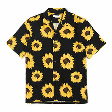 [GOZER] SUNFLOWER HAWAIIAN SHIRT