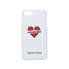 [beyondcloset] BASIC NOMANTIC IPHONE7 CASE WHITE