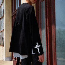 [YORKMINSTER] Cross Long Sleeve - Black