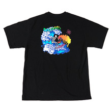[Now or Never]SURFING T-shirts Black