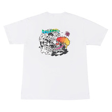 [Now or Never]SURFING T-shirts WHITE