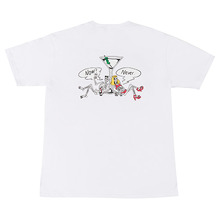 [Now or Never]COCKTAIL T-shirts White