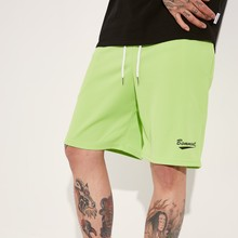 [BASEMOMENT] MESH TRAINING SHORT - LIME