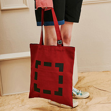[Unalloyed] BOX LINE ECO BAG - Red