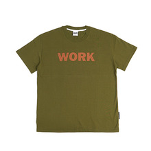 [GRASSHOPPER] No Work T-shirt - Khaki