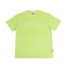 [GRASSHOPPER] No Work T-shirt - Neon