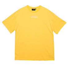 [Black Hoody]Line Logo Tour 1/2 Tee - Yellow