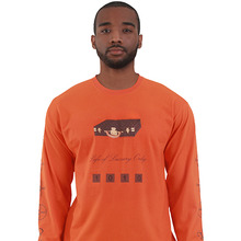 [LOLO ATLANTA]LOLO BISTEN T-SHIRT L/S (Orange/Brown)