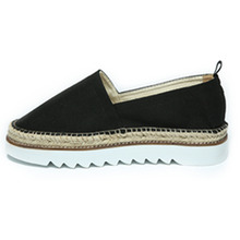 [1997 PITT STREET]leatherline slip-on(black)