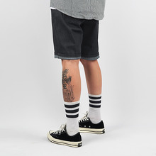 [LOKWARD]ONE WASHED SHORTS (DEEP GREY)