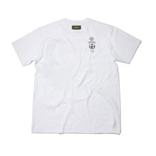 [Behind The Scenes]Accident logo tee White