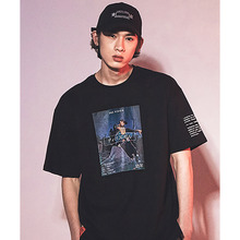 [30%세일][DEPASCAL] Skateboard T-Shirt Black