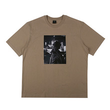 [10%할인][EINEN]Peerless Urban Secret 1/2 T-Shirts Dark Beige