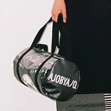 [30%할인] [AJOBYAJO] Graphic Duffle Bag (Black)