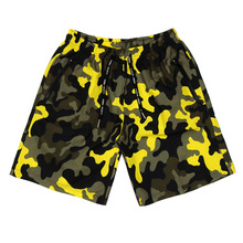 [Nasty Palm x Feel Enuff] Camo Shorts - Neon