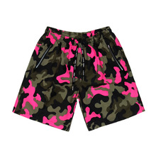 [Nasty Palm x Feel Enuff] Camo Shorts - Pink