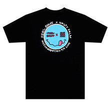 [Nasty Palm x Feel Enuff] Smile T-Shirts - Black