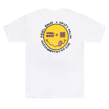 [Nasty Palm x Feel Enuff] Smile T-Shirts - White