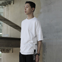 [DAIR LEN MODE]String point basic tee (white)