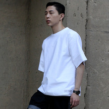 [DAIR LEN MODE]Wide shirts tee (white)