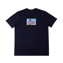 [10%할인][EINEN]Peerless Wellas 1/2 T-Shirts Navy