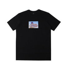 [10%할인][EINEN]Peerless Wellas 1/2 T-Shirts Black