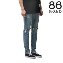 [86로드]86RJ-1601 Cutting Destroyed Washing Jeans