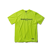 [ANTIMATTER]WASTED HOURS T-SHIRT_LIME