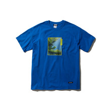 [ANTIMATTER]PALM TREES T-SHIRT_BLUE