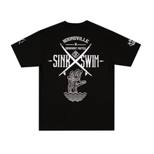 [HOUNDVILLE] SINK SWIM t-shirt black