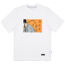 [LOKWARD] MONEY STRAW TEE (WHITE)