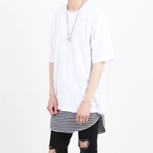 [Nar_Yoke] Basic Overfit T-Shirt - White