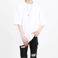 [Nar_Yoke] Two-Way Super Overfit T-Shirt - White