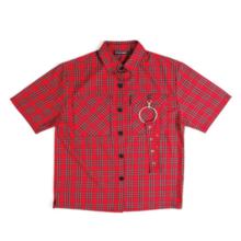 [20%할인] [NEVERCOMMON] OVERSIZE CHECK RING SHIRT