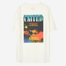 [Anderssonbell]UNISEX PACIFIC SURFER T-SHIRT - White