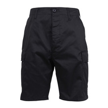 [Rothco] Solid BDU Shorts - Black