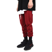 [Xsacky] Piping Jogger Pants RedWine