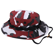 [Rothco] Camo Boonie Hat - Red Camo