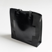 [30%할인][INTAR] BIG SHOULDER & TOTE BAG - BLACK