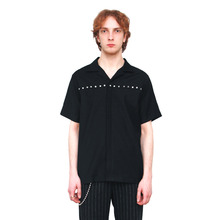 [20%할인][VERDAMT] Rivet Shirt - Black