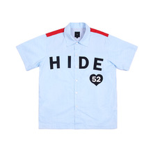 [30%할인][KING] HIDE 52 Stripe Shirt - White