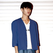 [30%할인][SEOUL BEAM] KOREAN SHIRT - BLUE