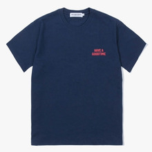 [Have a good time] Arch Logo S/S Tee - Navy