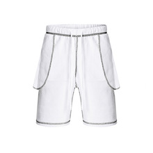 [SAINTSHOW] REVERSIBLE INSIDE OUT SHORT PANTS WB