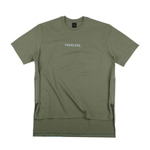 [10%할인][EINEN]Peerless Doubleside Zipper 1/2 T-Shirts Khaki